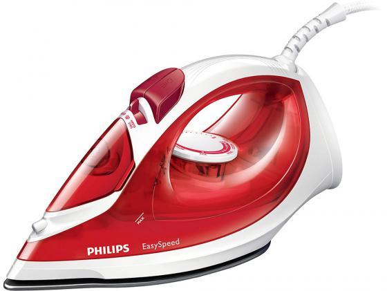 Утюг Philips GC1029/40 2000Вт пар 25г/мин удар 100г/мин бело-красный