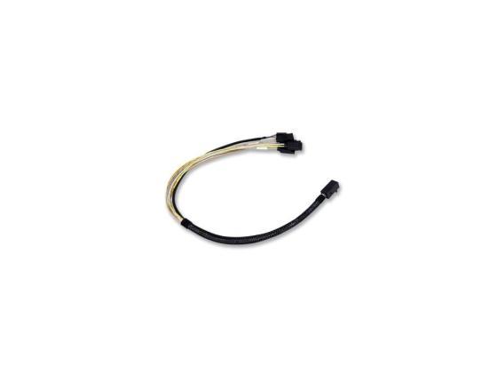 лучшая цена Кабель LSI LSI00410 SFF8643-X4 SATA 0.6м