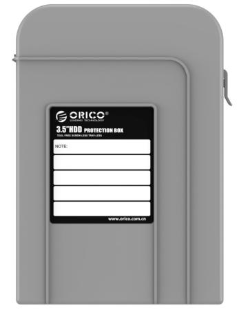 Чехол для HDD 3.5 Orico PHI-35-GY серый orico phi 35 3 5 hdd protector storage bag hdd protection case purple