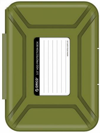 Чехол для HDD 3.5 Orico PHX-35-SN зеленый чехол для жесткого диска 3 5 orico phx 35 зеленый
