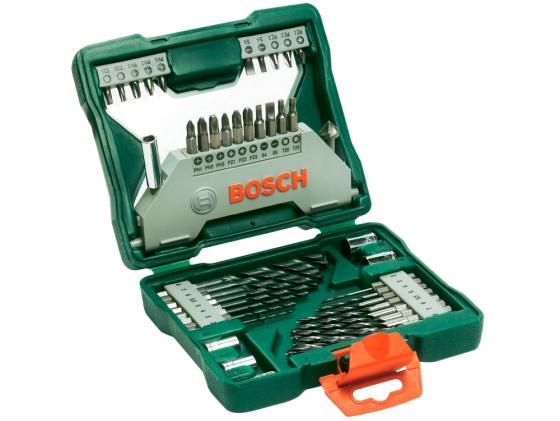 Набор бит и сверел Bosch X-line 43 43шт 2607019613 набор bosch x line 2 607 017 333 15 сверел 25 бит складные ключи шестигранники подарок