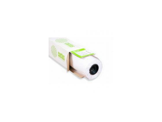 Фото - Холст Cactus CS-MC340-61015 610мм-15м 340 г/м2 бумага для плоттера cactus cs pc90 61045 24 610мм x 45м 90г м2 с покрытием