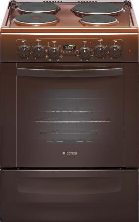 Электрическая плита Gefest ЭПНД 6140-03 0001 коричневый цена и фото
