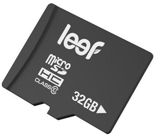 Карта памяти Micro SDHC 32Gb Class 10 Leef LMSA0KK032R5 + адаптер SD карта памяти leef microsdhc class 10 8gb