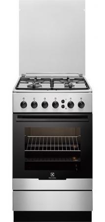 Газовая плита Electrolux EKG951108X серебристый цена и фото