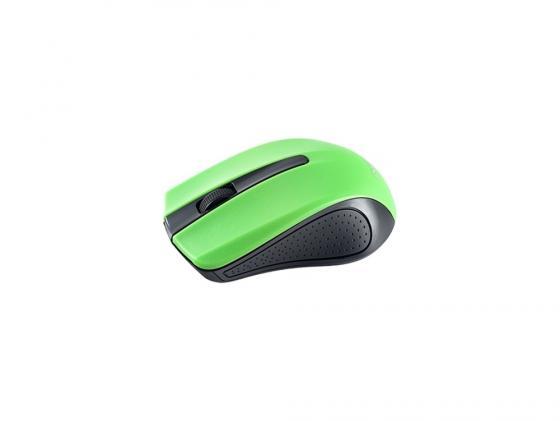 Мышь Perfeo PF-353-WOP-GN черно-зеленый USB
