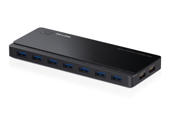 Концентратор USB 3.0 TP-LINK UH720 7 x USB 3.0 черный концентратор usb 3 0 tp link uh720 7 x usb 3 0 черный
