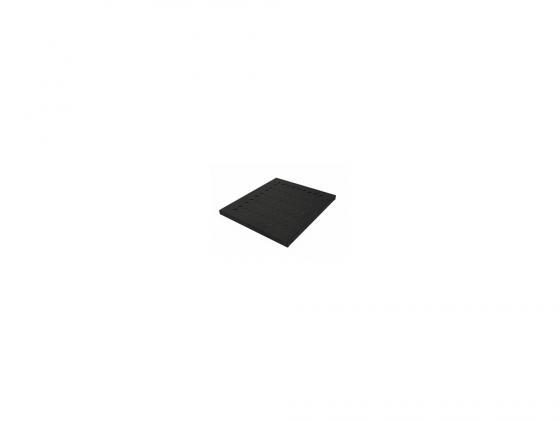 Полка Canovate CCA-7-1007 19 1U перфорированная нагрузка 50кг 1000х465мм серый