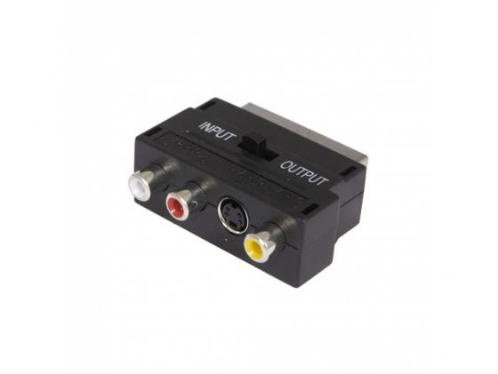 Фото - Адаптер Buro BSP005 Scart(m) In/Out-S-video(f)+3xRCA(f) черный collins s catching fire movie tie in edition