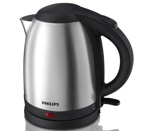 Чайник Philips HD9306/02 1800 Вт серебристый чёрный 1.5 л металл цена