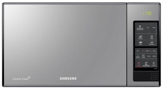 Микроволновая печь Samsung GE83XR — чёрный серебристый