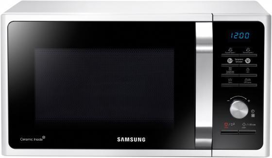 Микроволновая печь Samsung MG23F301TAW 23л 800Вт черно-белый