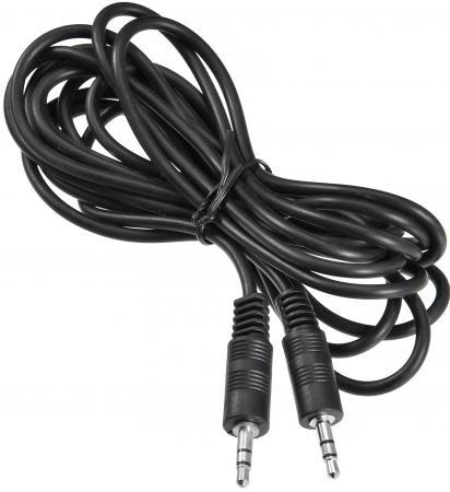 Переходник Buro 3.5 Jack (M) - 3.5 Jack (M) черный BAAC002-3 кабель соединительный аудио buro baac002 3 jack 3 5 m jack 3 5 m 3м черный