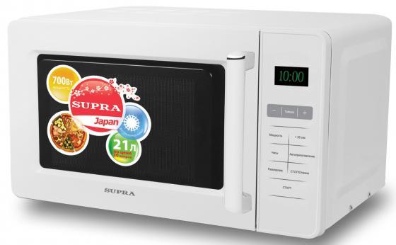 цена на Микроволновая печь Supra MWS-2103SW 21 л белый