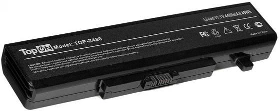 Аккумулятор для ноутбука Lenovo IdeaPad B480, B485, B580, B585, G480, G485, G580, G585, G780, N581, N586, V480, V480C, V480S, V580, V580C, Y480, Y485, Y580, Y580A, Y580M, Y580N, Y580P, Z380, Z480, Z485, Z580, Z585, K49A, M490, M495, ThinkPad E49, ThinkPad Edge E430, E435, E530, E535 4400мАч 11.1V TopON TOP-Z480 6 cells battery for lenovo ideapad y480 g710 g700 z580 g480 g585 y480 y485 y580 z380 z580 g400 g485 g580 y480n