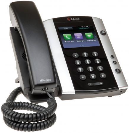 Телефон IP Polycom VVX 500 для конференций черный 2200-44500-114 утюг delonghi vvx 1445