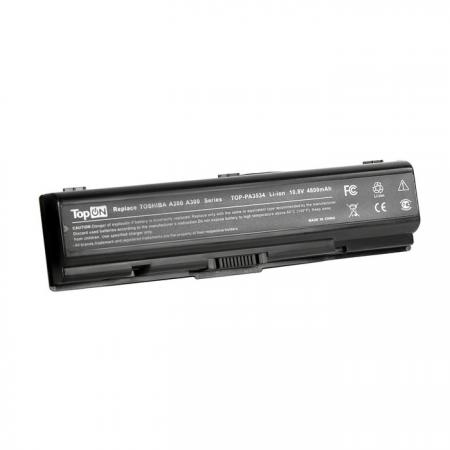 Аккумуляторная батарея TopON TOP-PA3534 4400мАч для ноутбуков Toshiba Satellite A200 A210 A300 A500 L200 L300 L500 L550 M200 v000185020 main board for toshiba satellite l500 l505 laptop motherboard gm45 ddr2 with free cpu