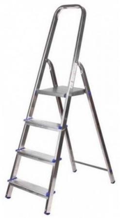 цена на Лестница-стремянка Зубр алюминиевая 4 ступени 38801-4