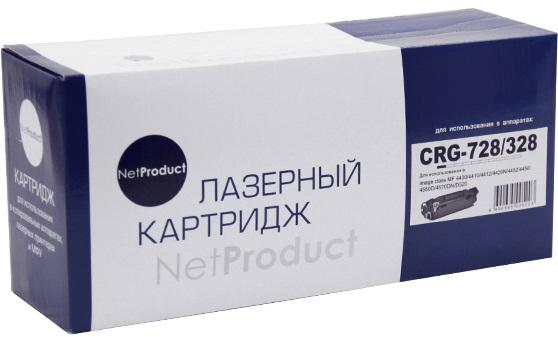 Фото - Картридж NetProduct Cartridge 728 для Canon MF4410/4430/4450/4570/4580 2100стр картридж canon 728 3500b010