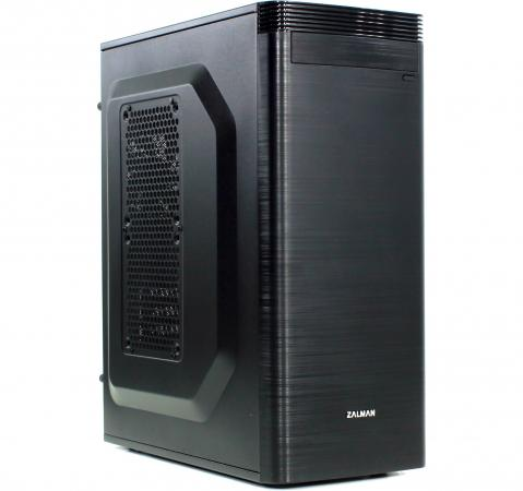 Корпус microATX Zalman ZM-T5 Без БП чёрный корпус zalman mini tower zm t5 black