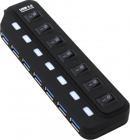 Концентратор USB 3.0 ORIENT BC-316 7 x USB 3.0 черный брошь brand new 2015 18k bc 1630
