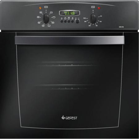 Электрический шкаф Gefest ДА 602-02 A черный все цены