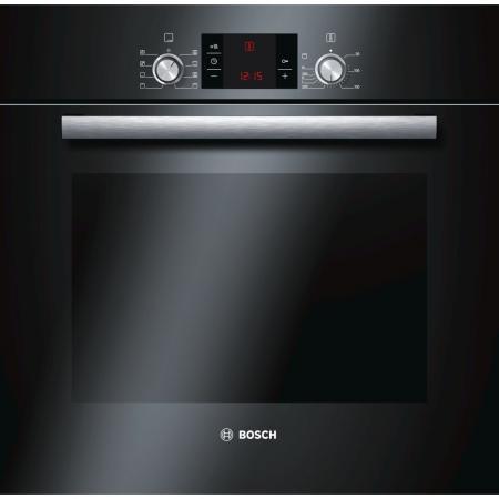 Электрический шкаф Bosch HBG23B360R черный