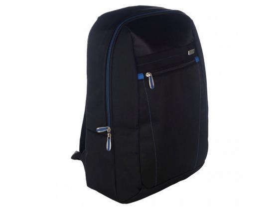 """Рюкзак для ноутбука 15.6"""" Targus TBB571EU нейлон черный/синий targus tbb45402eu 51"""