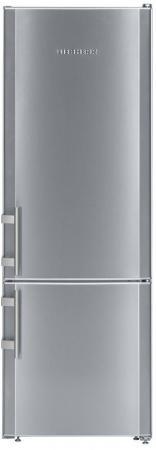 Холодильник Liebherr CUef 2811 серебристый холодильник liebherr cuwb 3311