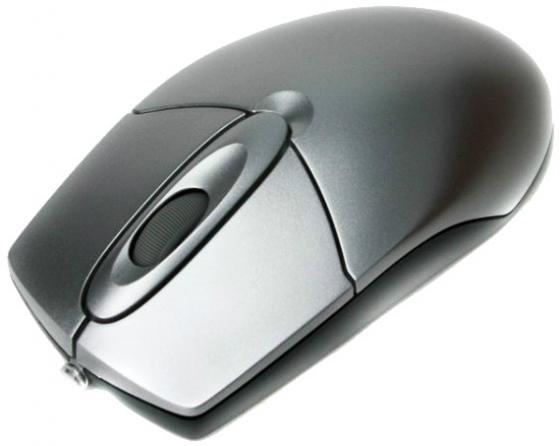 Мышь проводная A4TECH OP-720 серебристый PS/2 цена