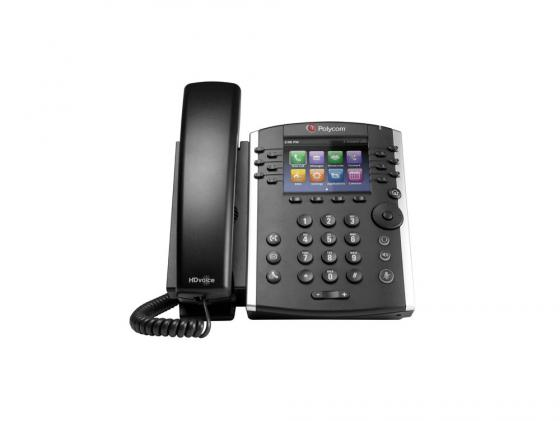 Телефон IP Polycom VVX 400 для конференций черный 2200-46157-114 delonghi vvx 1460