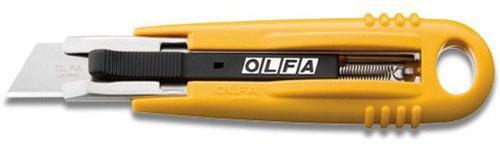 Нож Olfa с сегментированным лезвием и возвратной пружиной 17.5мм OL-SK-4 нож строительный olfa ol cmp 1
