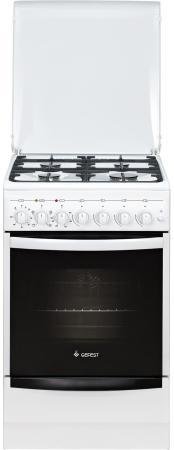Комбинированная плита Gefest ПГЭ 5102-02 белый цена в Москве и Питере