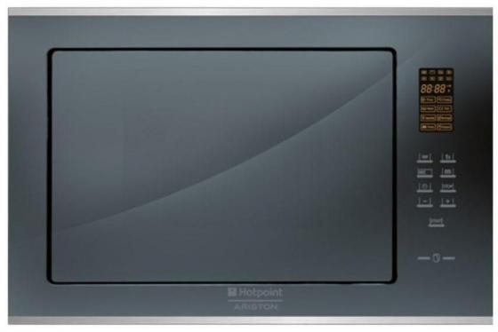 Встраиваемая микроволновая печь Ariston MWK 222.1 Q/HA 900 Вт чёрный зеркальный микроволновая печь bbk 23mws 927m w 900 вт белый