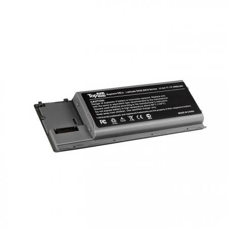 Аккумуляторная батарея TopON TOP-D620 4800мАч для ноутбуков Dell Latitude D620 D630 Precision M2300