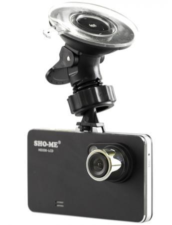 Видеорегистратор Sho-Me HD330-LCD 2.7 1920х1080 140° microSD коврик на торпедо sho me sho 0101