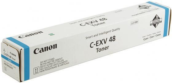 Тонер Canon C-EXV 48 голубой 9107B002 тонер canon c exv 48 голубой cyan