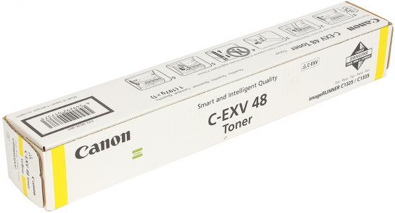 Тонер Canon C-EXV 48 для iR C1325iF/1335iF 11500стр желтый 9109B002 тонер canon c exv48y для ir c1325if 1335if желтый туба