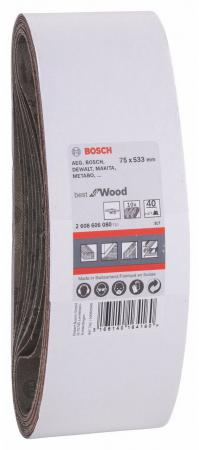 Набор шлифовальных лент Bosch 2608606080  набор шлифовальных лент bosch 2608606080