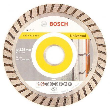 Алмазный диск Bosch 125-22.23T универсальный 2608602394