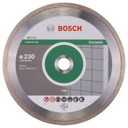 Купить Алмазный диск Bosch 230-22.23 по керамике 2608602205