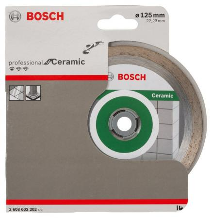 Купить Алмазный диск Bosch 125-22.23 по керамике 2608602202