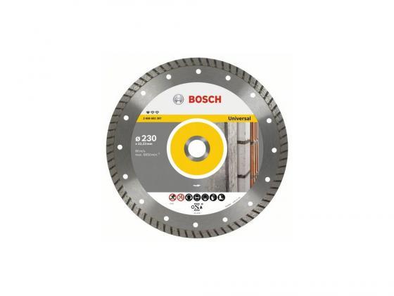 Алмазный диск Bosch 230-22.23T универсальный 2608602397 алмазный диск универсальный bosch diy turbo 115мм 2609256407