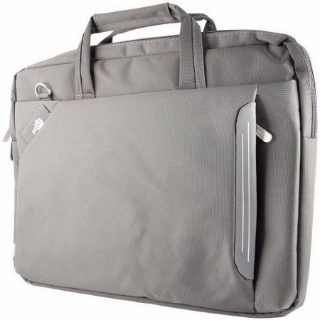"Cумка для ноутбука 15.6"" PC Pet 6717-1 нейлон серый TN6717-1GRLS цена и фото"