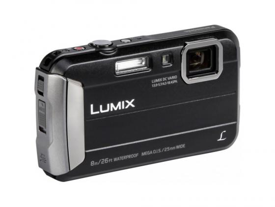 Фотоаппарат Panasonic Lumix DMC-FT30 черный фотоаппарат panasonic dmc tz57 lumix black