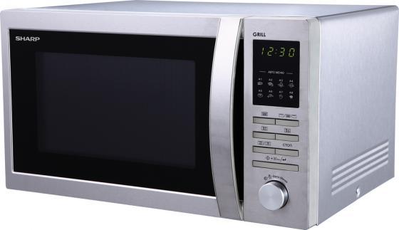 Микроволновая печь Sharp R7496ST 900 Вт серебристый