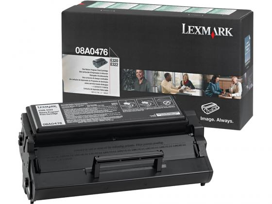 Картридж Lexmark 08A0476 для E320/E322/E322n черный 3000стр картридж lexmark 70c8hke для lexmark cs510 cs410 cs310 черный 4000стр