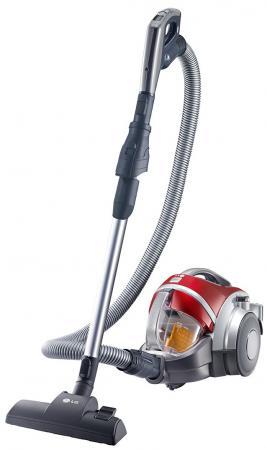 Пылесос LG V-K88504HUG без мешка сухая уборка 2000Вт красный lg v k72101ru