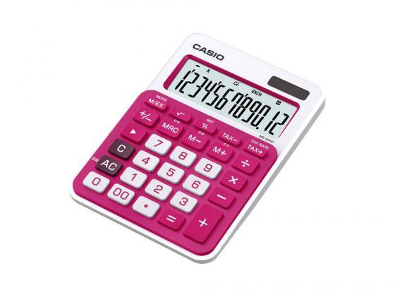Калькулятор Casio MS-20NC-RD-S-EC 12-разрядный красный калькулятор casio ms 20nc bu s ec 12 разрядный голубой