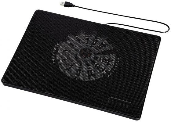 Подставка для ноутбука Hama 53067 охлаждающая черный цена